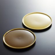 y2034-30-2 φ18.0茶色平皿