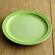 y2085-75-1 φ23.0LE CREUSET 黄緑プレート