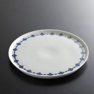 y2195-35-1 φ19.0Meblla青花柄ライン皿