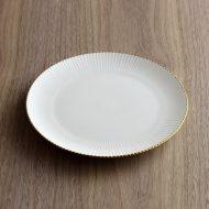 y2441-45-1 φ18.5ノリタケ金ラインケーキ皿