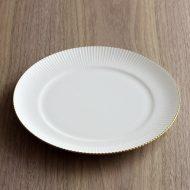 y2442-50-2 φ21.3ノリタケ金ラインデザート皿