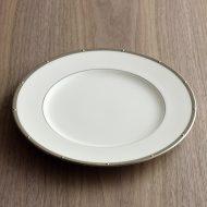 y2445-60-2 φ23.0ノリタケ4796デザート皿金、銀ライン