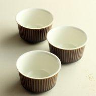 y4519-30-3 φ8.5x4.7VILLEROY&BOCH茶中白ココット
