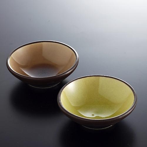 y4825y-10-2 φ8.2x2.5外こげ茶内カラフルボール
