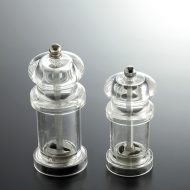 y5050-20-1 φ5.0x12.0 φ4.3x10.0透明コショウー挽き