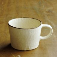 y6007-90-1 11.7x9.0x6.0きなり縁茶ラインマグ