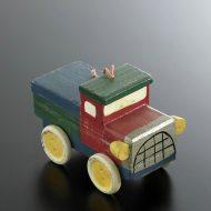 y6539-40-1 8.8x4.7x5.8木製青トラック