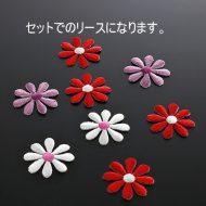 y6569-25-1 φ3.5小花ワッペン